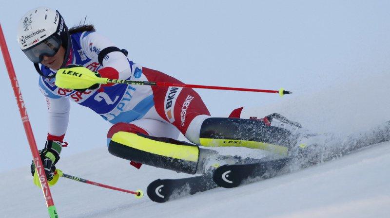 Ski alpin - Coupe du monde: Holdener termine 5e du slalom de Levi remporté par Shiffrin