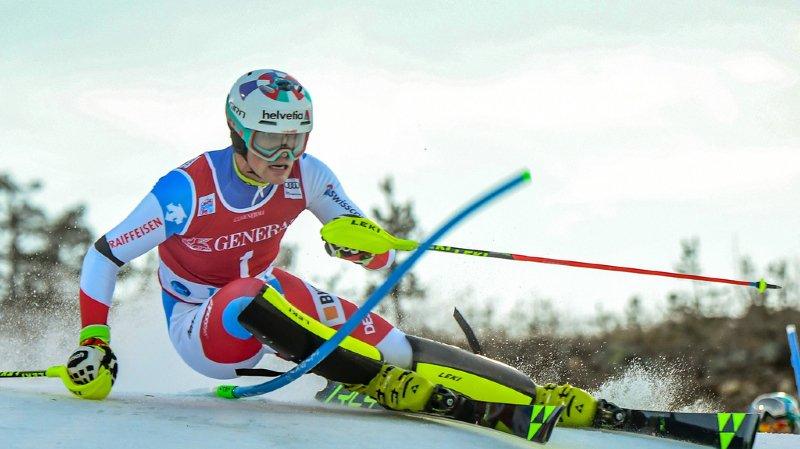 Ski alpin - Coupe du monde: les Suisses distancés après la 1ère manche, dominée par Hirscher