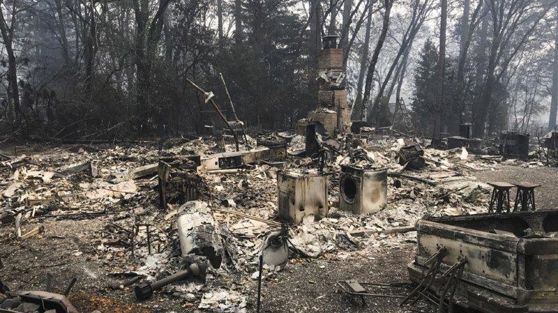 L'incendie a détruit près de 14'000 habitations, 530 commerces et 4500 autres bâtiments.