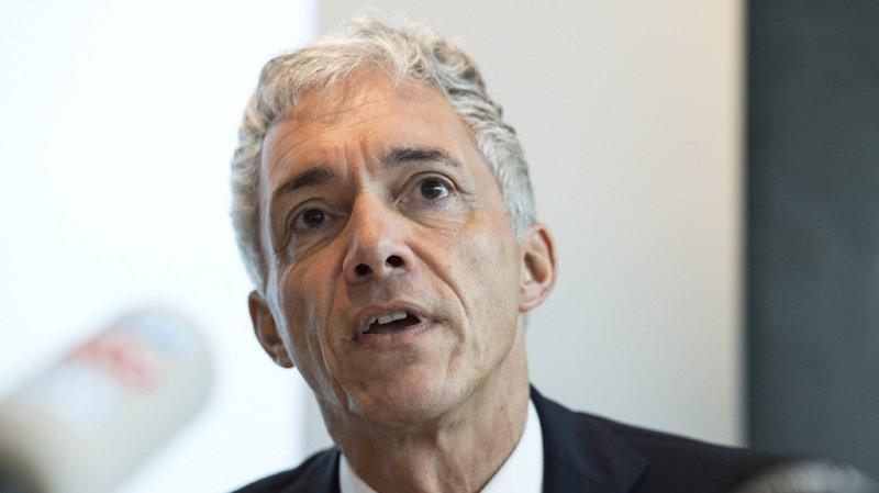Mercredi matin à Berne, Michael Lauber s'est expliqué sur sa proximité avec le président de la FIFA Gianni Infantio.