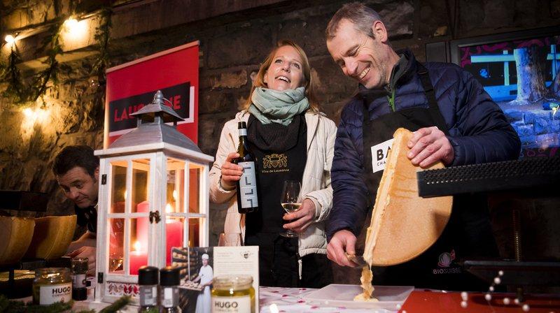 La fromagerie les Moulins de Pierre Buchillier (pays d'Enhaut) a remporté le prix de la meilleure raclette au nom de la ville de Lausanne.