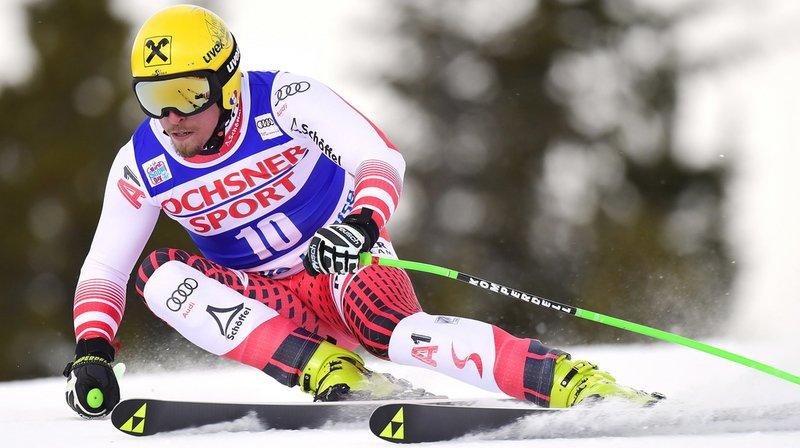 Le vainqueur Max Franz a remporté la deuxième descente de sa carrière.