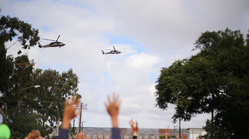 Environ 5000 migrants sont arrivés cette semaine à Tijuana dans l'espoir d'entrer aux Etats-Unis.