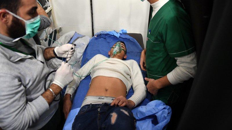 Syrie: une centaine de cas de suffocation après une attaque au gaz à Alep