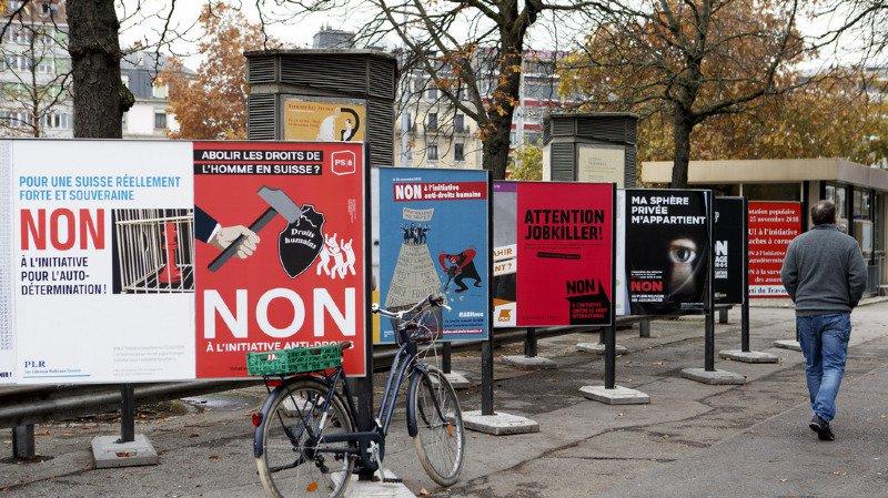 """Le non à l'initiative de l'UDC ne signifie pas """"carte blanche"""" pour les institutions suisses."""