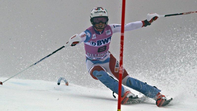 Ski alpin – Coupe du Monde : Mikalea Shiffrin remporte le slalom de Killington, Gisin 5e