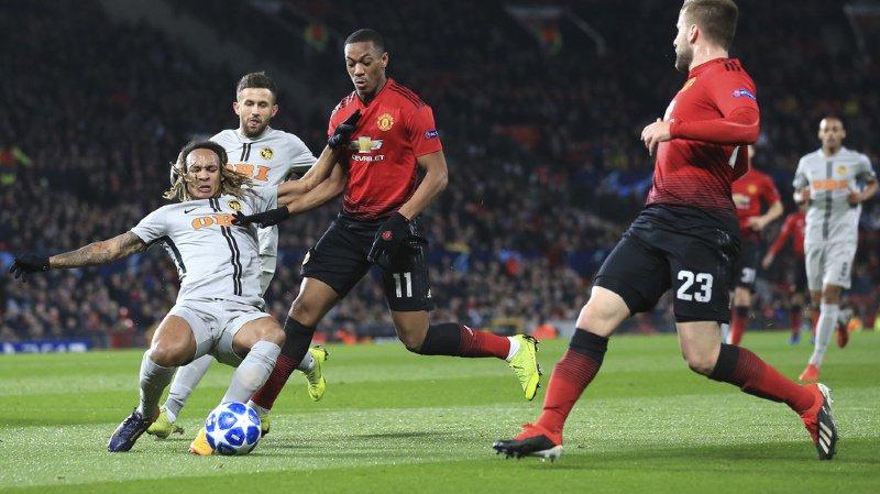 Football – Ligue des champions: Young Boys s'incline dans les arrêts de jeu face à Manchester United