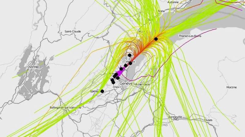 Aéroport de Genève: un développement qui fait du bruit