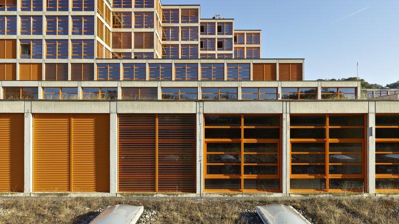 Le bâtiment de la HEIG-VD.