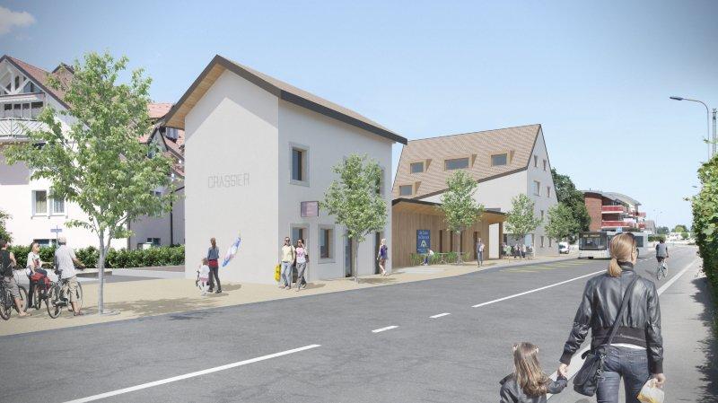 A Crassier, la refonte du quartier de l'ancienne gare passe le test de l'enquête publique