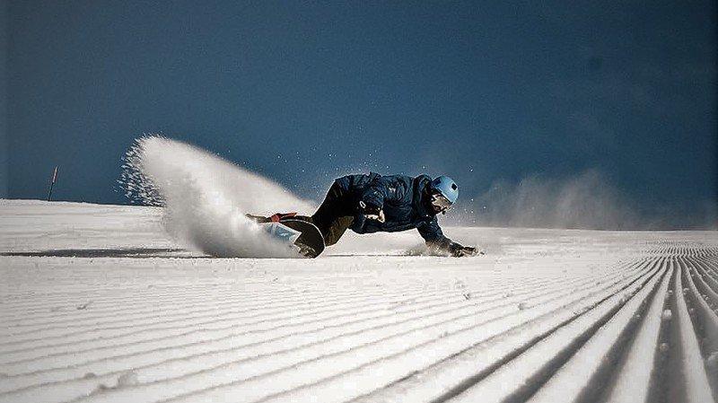 Snowboard: Rémi Benamo, le plaisir avant tout