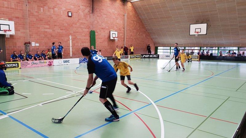 L'unihockey en fête à Begnins: «L'ambiance était vraiment bon enfant»