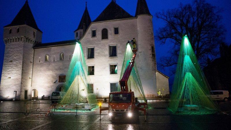 Le château de Nyon sera illuminé en orange (photo d'illustration).