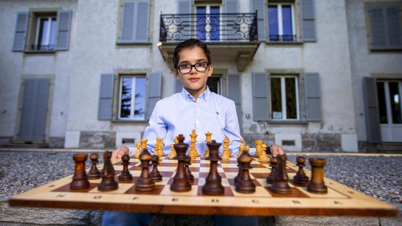 Le jeune Dorian Asllani.