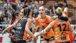 Volleyball: le NUC s'incline contre le leader