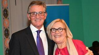 Nyon: la nouvelle secrétaire générale d'Uni Global Union honorée