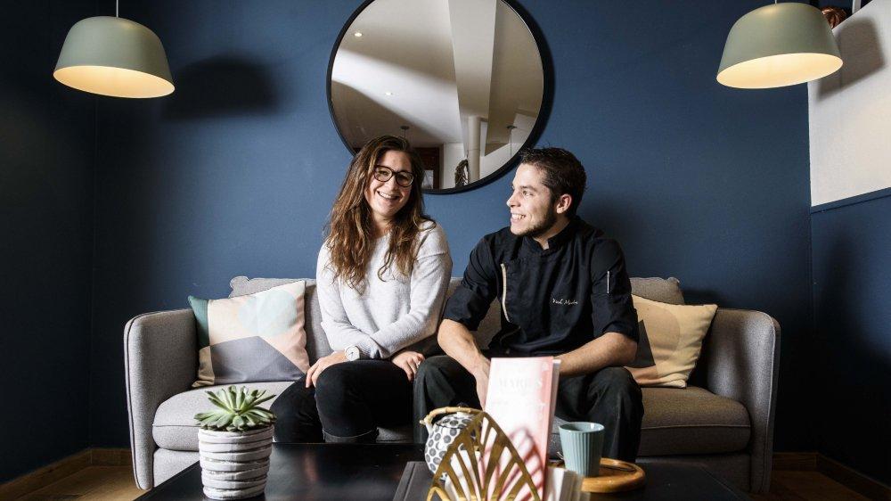 Marius Kirsch et Malivia Rossier sont installés à Givrins depuis quelques mois.