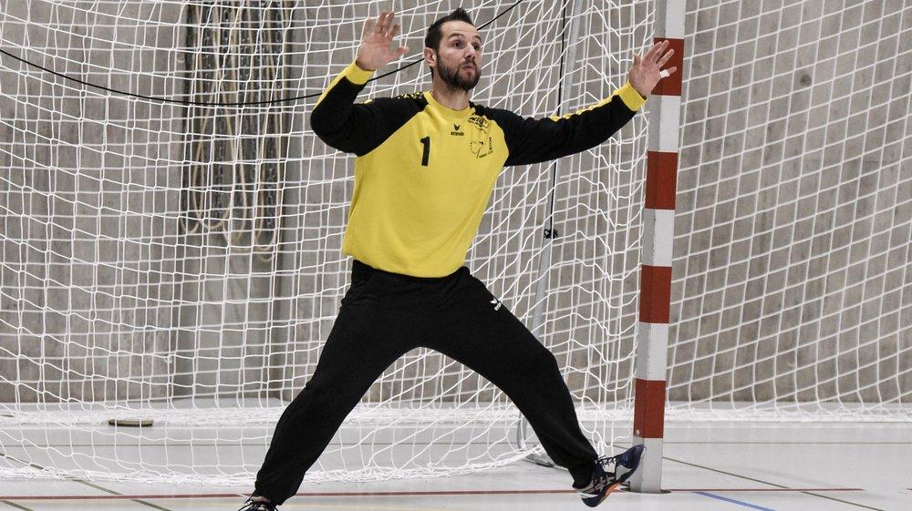 Le gardien nyonnais Mike Recchia s'est une nouvelle fois montré décisif dans sa cage.