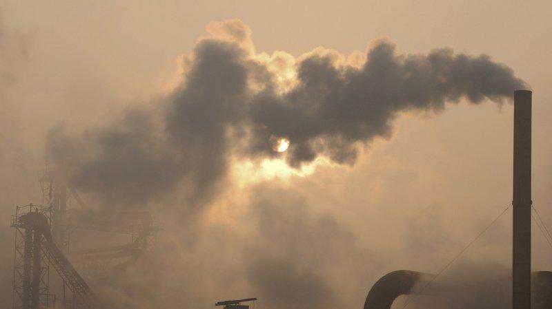La hausse de cette année est alimentée par un boom d'émissions en Chine, premier émetteur mondial. (illustration)