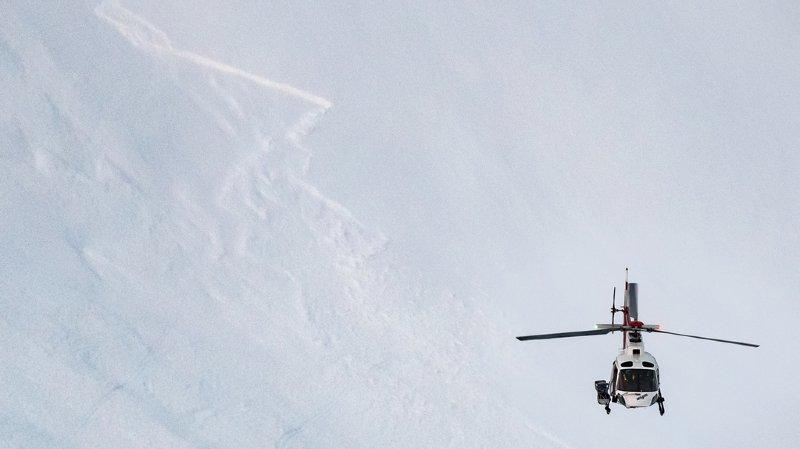 En dessous de 2400 mètres, de nombreuses avalanches de neige mouillée et de glissement sont à attendre avec la pluie. (illustration)