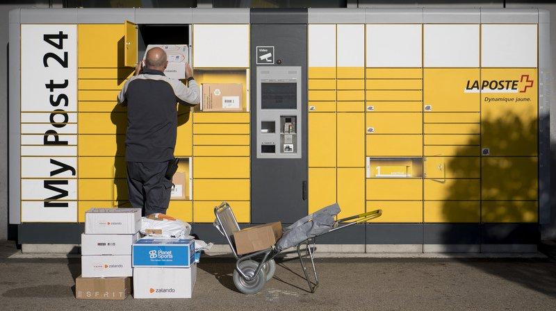 La Poste a acheminé 25 millions de colis depuis le 23 novembre.