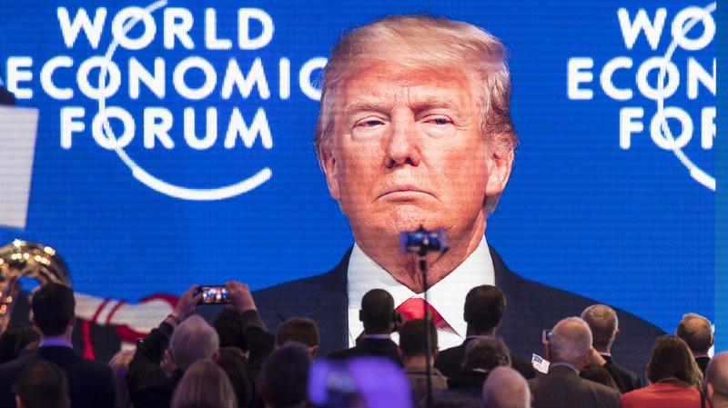 La visite de Donald Trump au WEF de Davos a braqué la lumière des médias internationaux sur la Suisse.