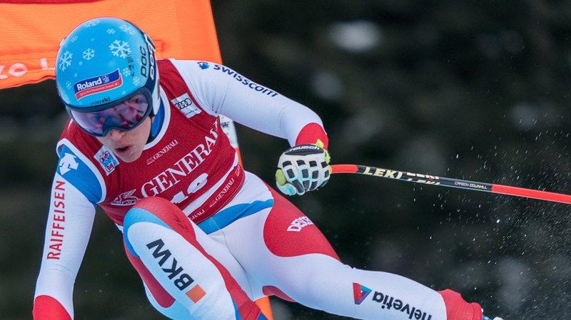 Ski alpin: Jasmine Flury 4e et meilleure Suissesse de la descente de Val Gardena, retour gagnant d'Ilka Stuhec