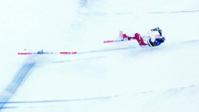 Ski alpin: état stable pour Marc Gisin, qui souffre de plusieurs fractures