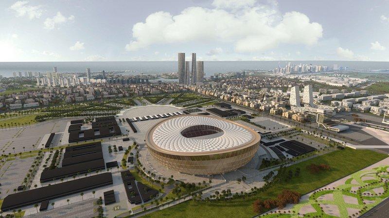 Football – Coupe du monde 2022: le Qatar dévoile le stade de sa finale