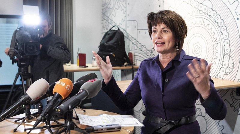 A l'occasion de sa conférence-bilan lundi à Berne, Doris Leuthard s'est réjouie des objectifs atteints que ce soit sur l'axe du Gothard ou en matière de financement des infrastructures routières et ferroviaires.
