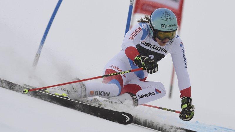 Meilleure Suissesse de cette manche, Wendy Holdener est arrivée dix-huitième.