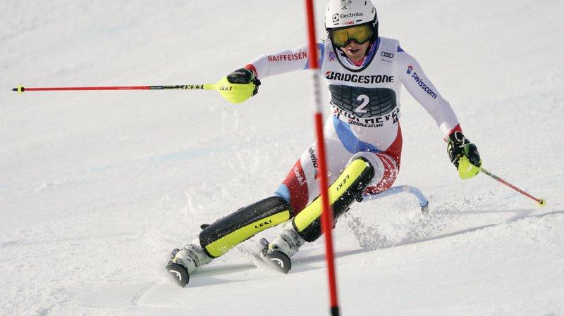 Ski alpin: Wendy Holdener 4e de la première manche du slalom de Courchevel, Shiffrin devant