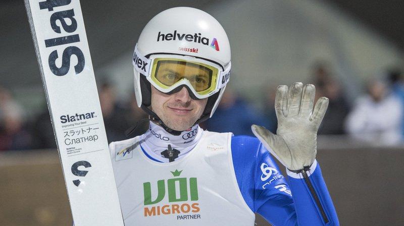 Le quadruple champion olympique a été le meilleur Suisse classé, avec des sauts de 129 et 133 m.