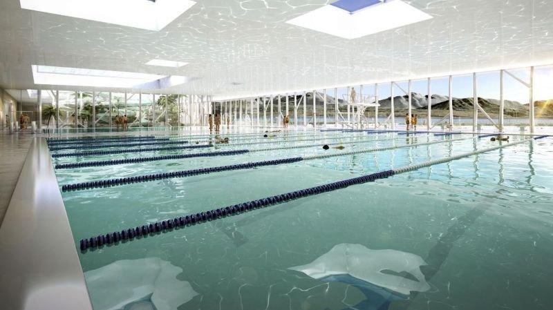 Morges: le centre aquatique se dévoile sur fond de contestation