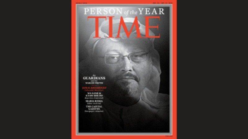 Médias: Khashoggi et d'autres journalistes sont élus personnalités de l'année du Time