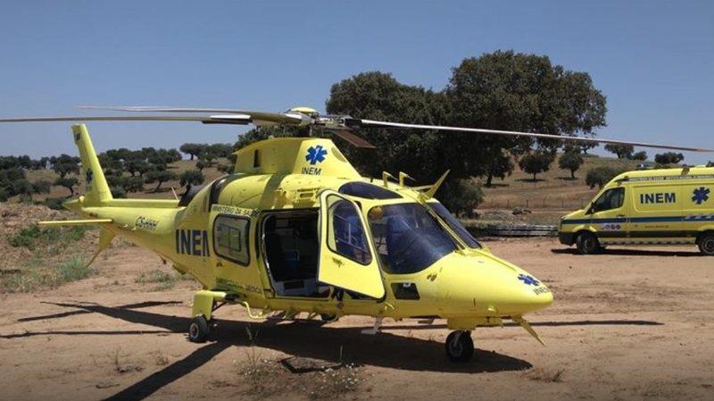 C'est un hélicoptère de ce modèle qui s'est crashé samedi soir.