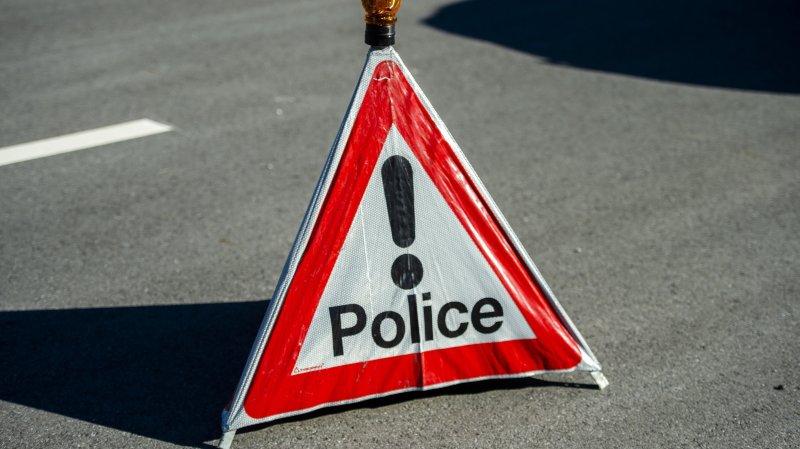 Une collision entre une camionnette et un cycliste à Troistorrents a provoqué le décès de ce dernier.