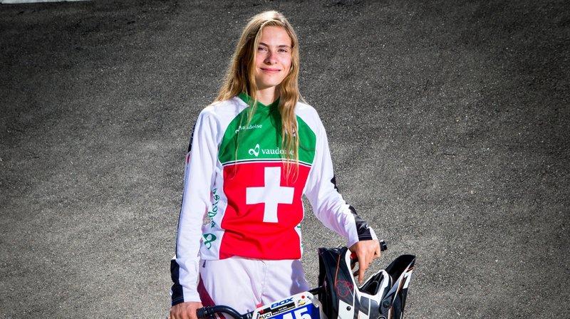 Une nouvelle récompense pour la sociétaire du BMX Club Echichens, Zoé Claessens.