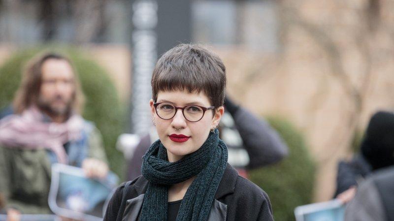Elisa Keller, déléguée suisse de l'association 269life, et sa co-accusée n'ont pas obtenu une peine avec sursis.