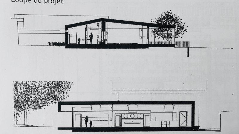 Le bâtiment sur un étage prendrait place en continuité de la salle communale, derrière la buvette du FC Gingins. Pour autant que le Conseil accorde le crédit de 1,4 million de francs en février prochain.