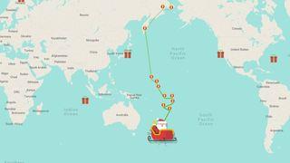 Le Père Noël est en route! Suivez en direct son parcours à travers le monde