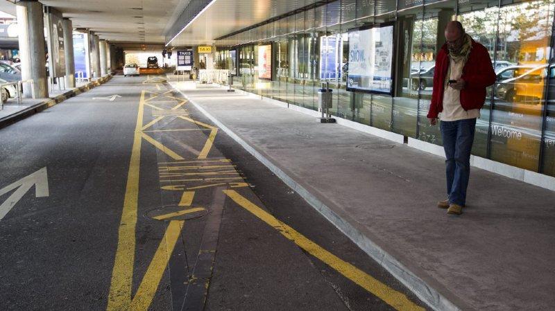 Genève Aéroport: taxis fâchés contre les transporteurs étrangers
