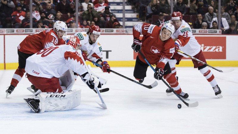 Les juniors Suisses se sont inclinés 7-4 contre la Russie lors d'un match spectaculaire lors de leur dernière partie de poule au Championnat du monde M20 à Vancouver et Victoria.