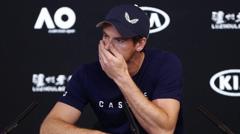 Tennis – Open d'Australie: Andy Murray annonce sa retraite pour cette année