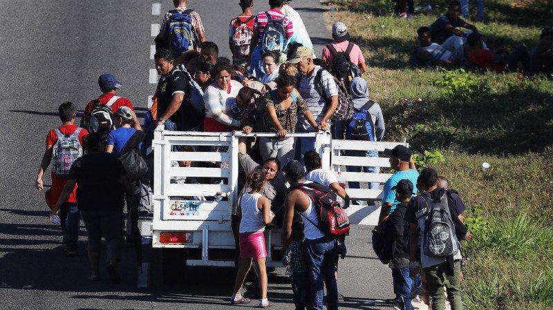 Mexique: des centaines de migrants honduriens ont illégalement franchi la frontière