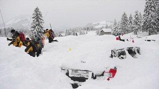 """Avalanche à Schwägalp: aucun disparu, un événement """"pas prévisible"""""""