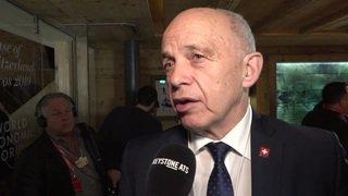 Ueli Maurer rencontres plusieurs ministres des finances