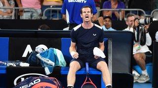 Tennis – Open d'Australie: Andy Murray sort avec les honneurs pour sa dernière participation