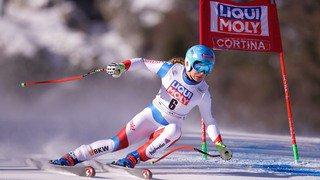 Ski alpin: Jasmine Flury 5e du Super-G de Cortina d'Ampezzo, Mikaela Shiffrin s'impose