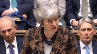 Brexit: Theresa May veut rediscuter l'accord avec l'Union européenne